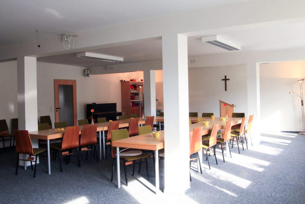 Aufenthaltsräume / Veranstaltungsräume - EFG Baunatal
